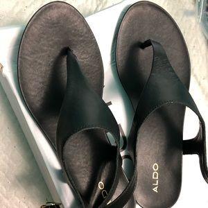 Also sandals